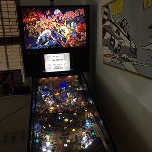 Iron Maiden Pro - bought from pinball heaven