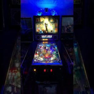 "Addams Family ""Showtime"" Multiball startup"